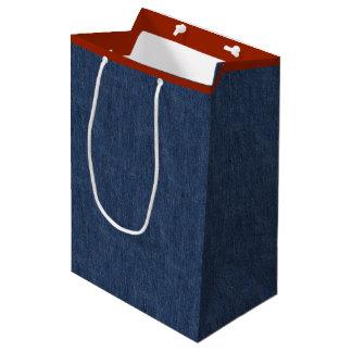 Legendäre Blue Jeans Mittlere Geschenktüte