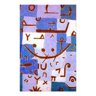 Legende des Nils durch Paul Klee Briefpapier
