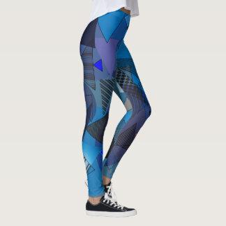 """Legging mit """"Dreieck-Denim"""" Entwurf Leggings"""