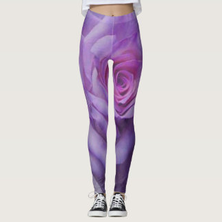 Full Length Leggings Featuring A Variety Of Art