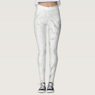 Leggings Le pantalon de marbre de guêtres lisse