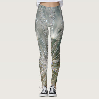 Legginslöwenzahn mit waterdrops leggings