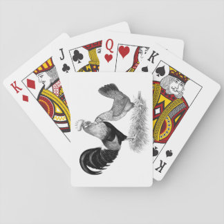 Leghorn-Produktions-Brown-Hühner Pokerkarte