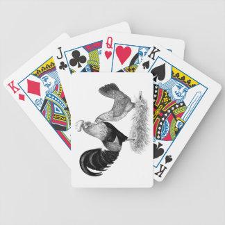 Leghorn-Produktions-Brown-Hühner Spielkarten