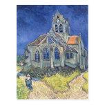 L'église à l'Auvers-sur-Oise Cartes Postales