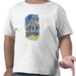 L'église à l'Auvers-sur-Oise T-shirts