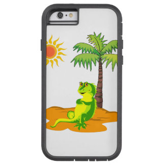 Leguan in der Wüste Tough Xtreme iPhone 6 Hülle