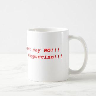 Lehnen Sie Cappuccino ab Kaffeetasse