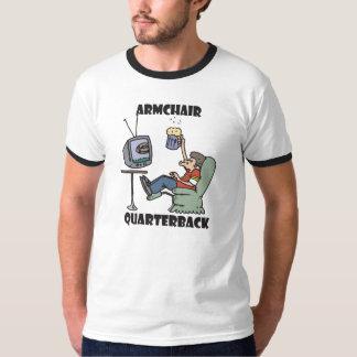 Lehnsessel-Quarterback T-Shirt