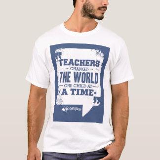 Lehrer ändern das Kind der Welteine auf einmal T-Shirt