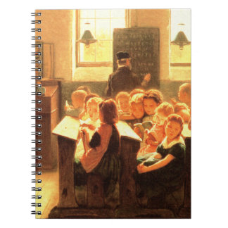 Lehrer-Anerkennungs-Kunst-Geschenk-Notizbücher Spiral Notizblock