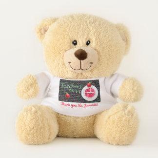 Lehrer-Aufschlagsdenkanstoß Teddybär