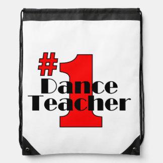Lehrer des Tanz-#1 Turnbeutel