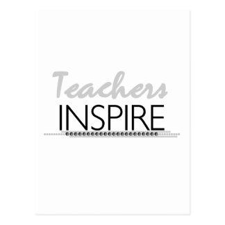 Lehrer inspirieren T-Shirts und Geschenke Postkarte