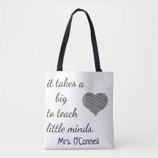 Lehrer/Kindertagesstätten-Zitat Tasche