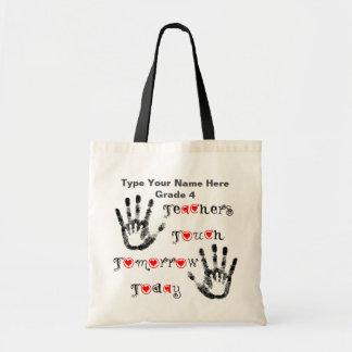 Lehrer-Touch-morgen heute - personalisierte Tasche
