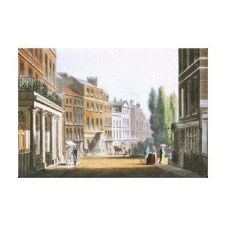 Leicester-Quadrat 1812 von Ackermanns Behälter Leinwanddruck