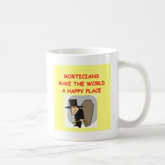 Leichenbestatter Kaffeetasse