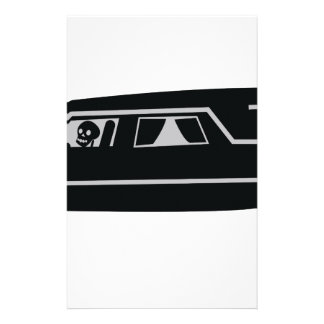Leichenwagen Personalisierte Druckpapiere
