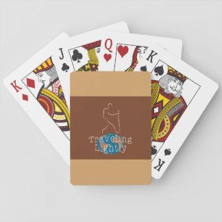 Leicht reisen Kartenstapeles Spielkarten