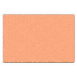 Leicht ruhige orange Farbe Seidenpapier