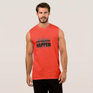 Leichtathletik-Hammer-Wurfs-Trägershirt Ärmelloses Shirt