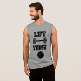 Leichtathletik-Kugelstoßen-Spritzring-Trägershirt Ärmelloses Shirt