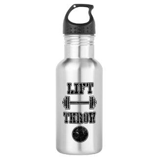 Leichtathletik-Kugelstoßen-Wurfs-Wasser-Flasche Edelstahlflasche