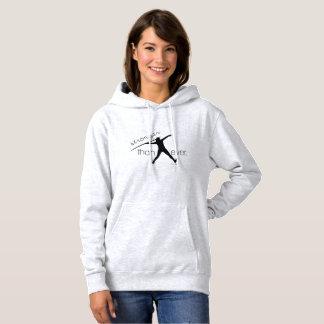 Leichtathletik-Speer-Wurfhoodie-Sweatshirt Hoodie