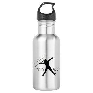 Leichtathletik-Speer-Wurfs-Wasser-Flasche Trinkflasche
