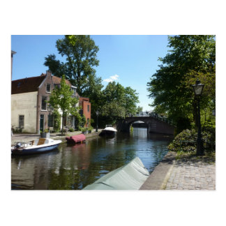 Leiden-Kanal Postkarte