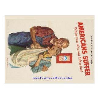 Leiden Sie Postkarte