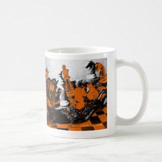 Leidenschaft des Schach-Tassenentwurfs Kaffeetasse