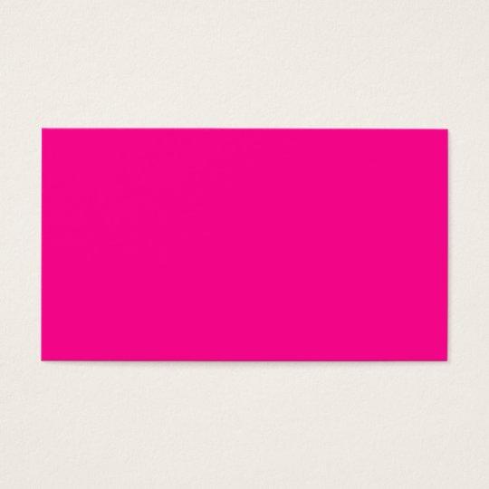 Leidenschaft P23 für Rosa! Magentarote Farbe Visitenkarte