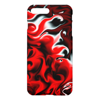 Leidenschaft rot und schwarz iPhone 7 plus hülle