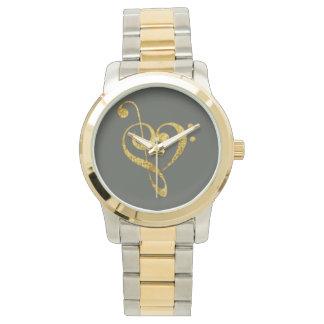 leidenschaftlich Musical - Schmuck Armbanduhr