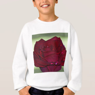 Leidenschaftliche Rote Rose Sweatshirt
