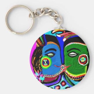 Leidenschaftlicher Kuss - Vintage Schlüsselanhänger
