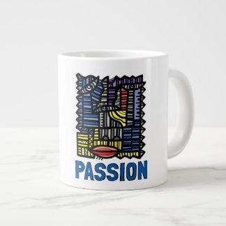 """""""Leidenschafts-"""" riesige Tasse"""