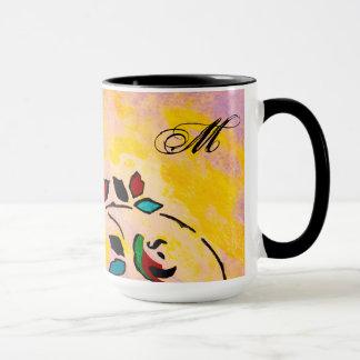 Leidenschafts-Stück-Entwurfs-Monogramm-Tasse Tasse