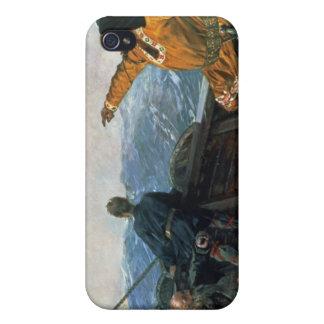Leif Eriksson visiert Land in Amerika, 1893 an Schutzhülle Fürs iPhone 4