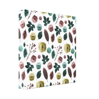 Leinwand-Blume Leinwanddruck