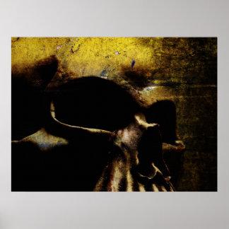 Leinwand-Schädel Poster