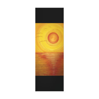 """Leinwanddruck """"Golden Sunset"""""""