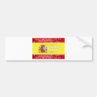 Leiterplatte Spanien Autoaufkleber
