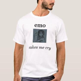 l'emo m'incite à pleurer t-shirt