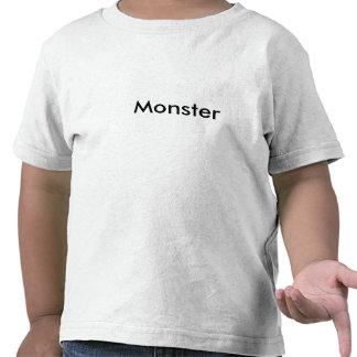 L'enfant en bas âge sont des monstres t-shirt