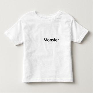 L'enfant en bas âge sont des monstres tshirts