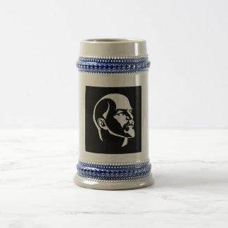 Lenin-Kopf Bierglas