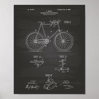 Lenkgang fährt die 1898 Patent-Kunst-Tafel rad Poster